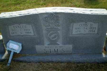 SIMS, OTIS D - Greene County, Arkansas | OTIS D SIMS - Arkansas Gravestone Photos