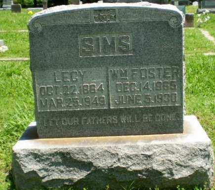 SIMS, WILLIAM FOSTER - Greene County, Arkansas | WILLIAM FOSTER SIMS - Arkansas Gravestone Photos