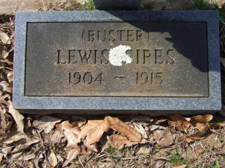 SIPES, LEWIS (BUSTER) - Greene County, Arkansas   LEWIS (BUSTER) SIPES - Arkansas Gravestone Photos
