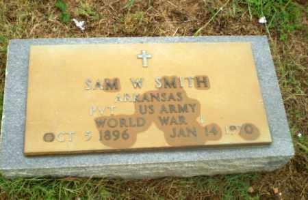 SMITH  (VETERAN WWI), SAM W - Greene County, Arkansas | SAM W SMITH  (VETERAN WWI) - Arkansas Gravestone Photos