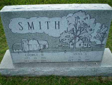 SMITH, ANNA A - Greene County, Arkansas   ANNA A SMITH - Arkansas Gravestone Photos