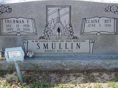 "SMULLIN, ELAINE ""BET"" - Greene County, Arkansas   ELAINE ""BET"" SMULLIN - Arkansas Gravestone Photos"