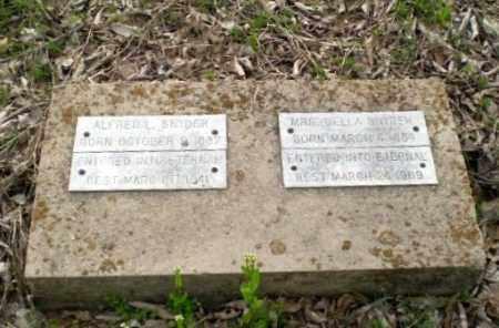 SNYDER, ALFRED L - Greene County, Arkansas | ALFRED L SNYDER - Arkansas Gravestone Photos
