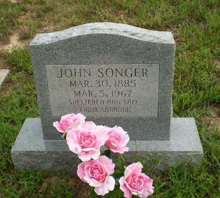 SONGER, JOHN - Greene County, Arkansas | JOHN SONGER - Arkansas Gravestone Photos