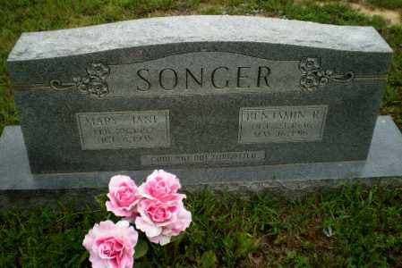 SONGER, MARY JANE - Greene County, Arkansas | MARY JANE SONGER - Arkansas Gravestone Photos