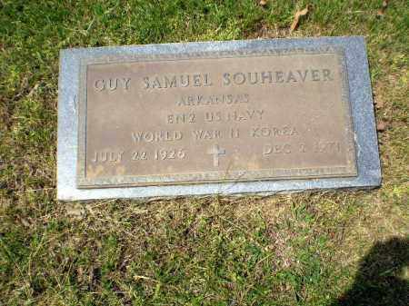 SOUHEAVER  (VETERAN 2 WARS), GUY SAMUEL - Greene County, Arkansas | GUY SAMUEL SOUHEAVER  (VETERAN 2 WARS) - Arkansas Gravestone Photos