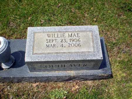 SOUHEAVER, WILLIE MAE - Greene County, Arkansas   WILLIE MAE SOUHEAVER - Arkansas Gravestone Photos