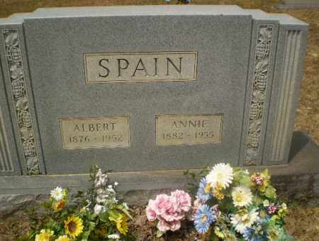 SPAIN, ANNIE - Greene County, Arkansas | ANNIE SPAIN - Arkansas Gravestone Photos