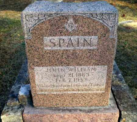 SPAIN, JOHN WILLIAM - Greene County, Arkansas | JOHN WILLIAM SPAIN - Arkansas Gravestone Photos