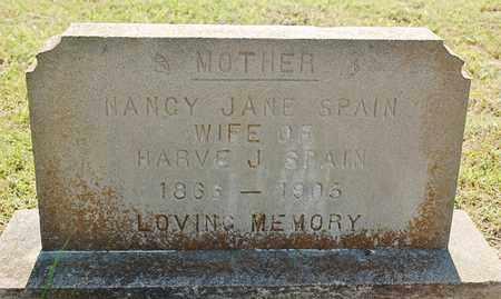 SPAIN, NANCY JANE - Greene County, Arkansas | NANCY JANE SPAIN - Arkansas Gravestone Photos
