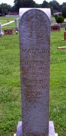 SPENCE, MATILDA - Greene County, Arkansas   MATILDA SPENCE - Arkansas Gravestone Photos