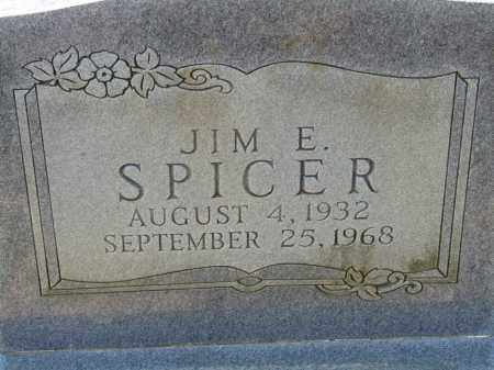 SPICER, JIM E. - Greene County, Arkansas | JIM E. SPICER - Arkansas Gravestone Photos