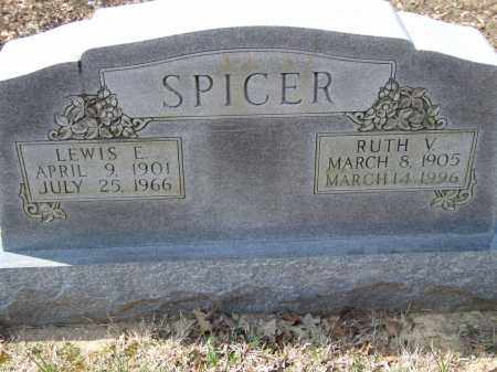 SPICER, LEWIS E. - Greene County, Arkansas | LEWIS E. SPICER - Arkansas Gravestone Photos