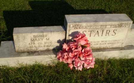 STAIRS, MARY M - Greene County, Arkansas | MARY M STAIRS - Arkansas Gravestone Photos