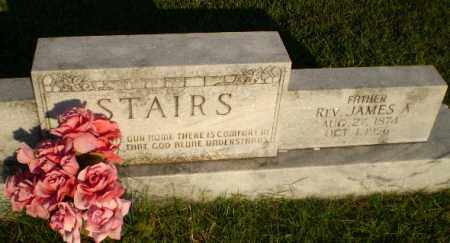 STAIRS, REV, JAMES A - Greene County, Arkansas | JAMES A STAIRS, REV - Arkansas Gravestone Photos