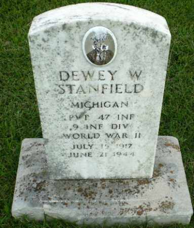 STANFIELD  (VETERAN WWII), DEWEY W - Greene County, Arkansas | DEWEY W STANFIELD  (VETERAN WWII) - Arkansas Gravestone Photos