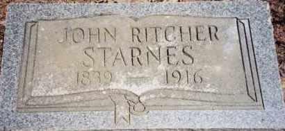 STARNES, JOHN RITCHER - Greene County, Arkansas   JOHN RITCHER STARNES - Arkansas Gravestone Photos