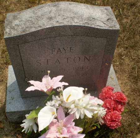 STATON, FAYE - Greene County, Arkansas   FAYE STATON - Arkansas Gravestone Photos