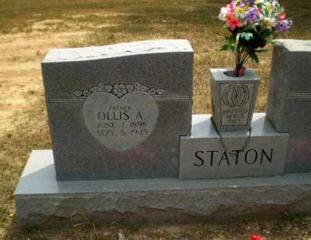 STATON, OLLIS A - Greene County, Arkansas   OLLIS A STATON - Arkansas Gravestone Photos