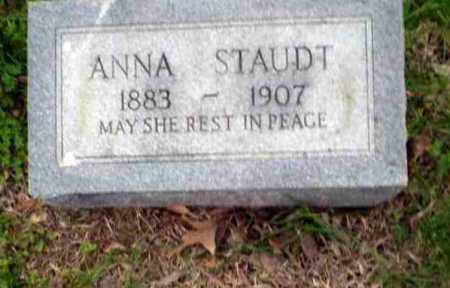 STAUDT, ANNA - Greene County, Arkansas | ANNA STAUDT - Arkansas Gravestone Photos