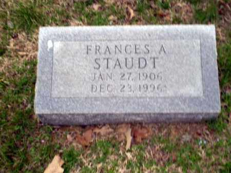 STAUDT, FRANCES A. - Greene County, Arkansas | FRANCES A. STAUDT - Arkansas Gravestone Photos