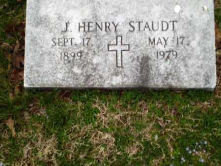 STAUDT, J HENRY - Greene County, Arkansas | J HENRY STAUDT - Arkansas Gravestone Photos