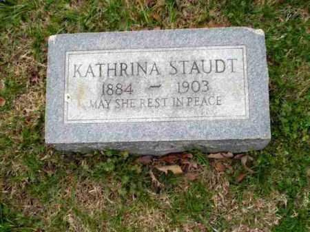 STAUDT, KATHRINA - Greene County, Arkansas   KATHRINA STAUDT - Arkansas Gravestone Photos