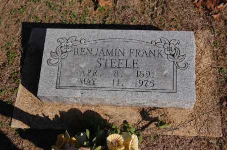 STEELE, BENJAMIN FRANKLIN - Greene County, Arkansas   BENJAMIN FRANKLIN STEELE - Arkansas Gravestone Photos