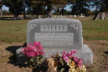ANDIS STEELE, MARTHA MALISSIE - Greene County, Arkansas   MARTHA MALISSIE ANDIS STEELE - Arkansas Gravestone Photos