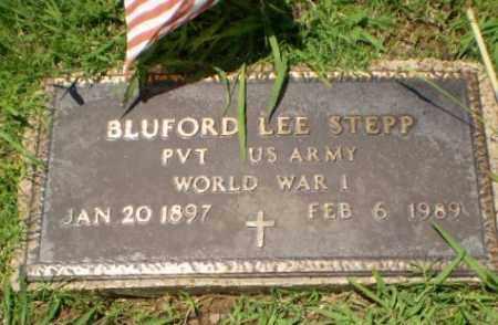 STEPP  (VETERAN WWI), BLUFORD LEE - Greene County, Arkansas | BLUFORD LEE STEPP  (VETERAN WWI) - Arkansas Gravestone Photos