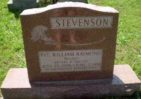 "STEVENSON (VETERAN WWII), WILLIAM RAYMOND ""BUSTER"" - Greene County, Arkansas | WILLIAM RAYMOND ""BUSTER"" STEVENSON (VETERAN WWII) - Arkansas Gravestone Photos"