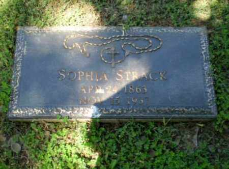 STRACK, SOPHIA - Greene County, Arkansas | SOPHIA STRACK - Arkansas Gravestone Photos