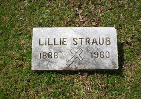 STRAUB, LILLIE - Greene County, Arkansas | LILLIE STRAUB - Arkansas Gravestone Photos