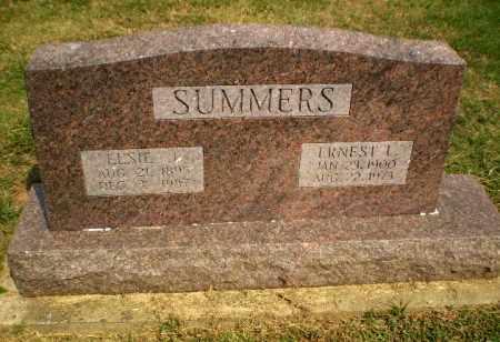 SUMMERS, ERNEST L - Greene County, Arkansas   ERNEST L SUMMERS - Arkansas Gravestone Photos