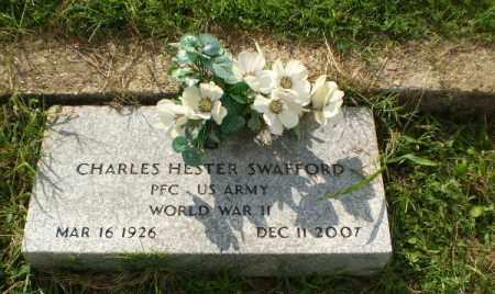 SWAFFORD  (VETERAN WWII), CHARLES HESTER - Greene County, Arkansas   CHARLES HESTER SWAFFORD  (VETERAN WWII) - Arkansas Gravestone Photos