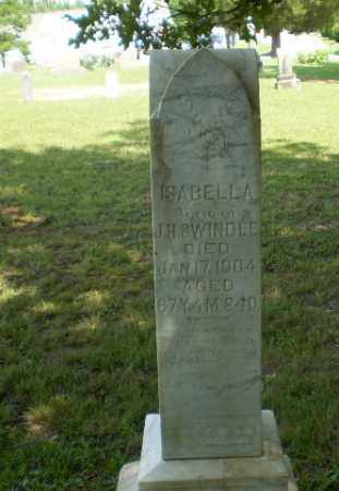 SWINDEL, ISABELLA - Greene County, Arkansas | ISABELLA SWINDEL - Arkansas Gravestone Photos