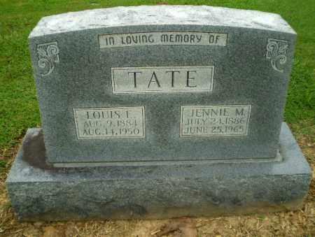 TATE, JENNIE M - Greene County, Arkansas | JENNIE M TATE - Arkansas Gravestone Photos