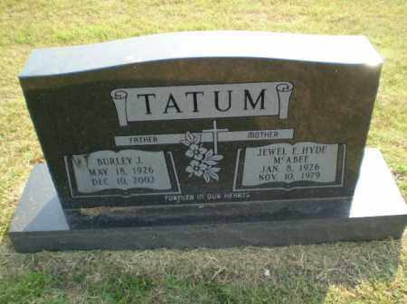 TATUM, JEWEL F - Greene County, Arkansas | JEWEL F TATUM - Arkansas Gravestone Photos