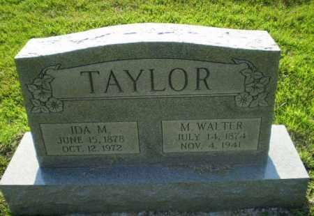 TAYLOR, M. WALTER - Greene County, Arkansas | M. WALTER TAYLOR - Arkansas Gravestone Photos