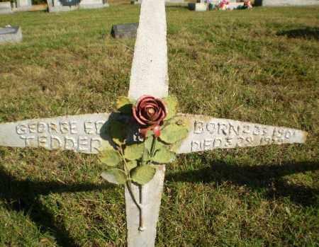 TEDDER, GEORGE ED - Greene County, Arkansas   GEORGE ED TEDDER - Arkansas Gravestone Photos