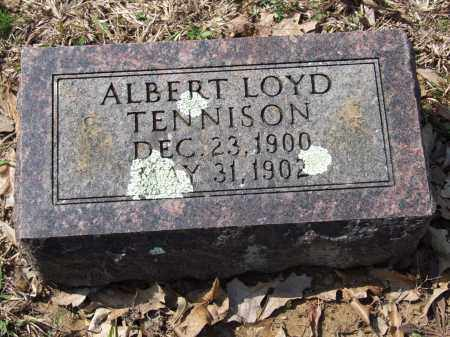 TENNISON, ALBERT LOYD - Greene County, Arkansas | ALBERT LOYD TENNISON - Arkansas Gravestone Photos