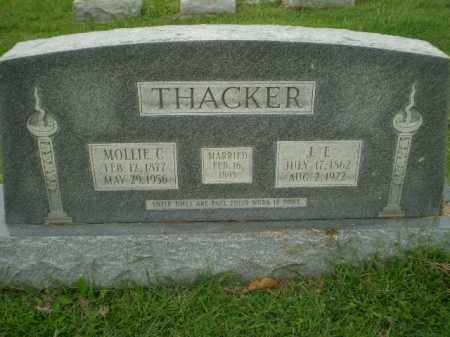 THACKER, J.E. - Greene County, Arkansas | J.E. THACKER - Arkansas Gravestone Photos