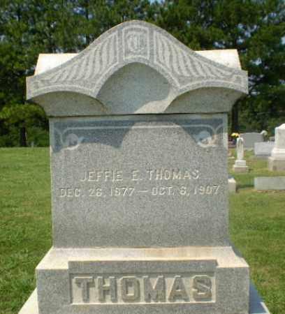 THOMAS, JEFFIE E - Greene County, Arkansas | JEFFIE E THOMAS - Arkansas Gravestone Photos
