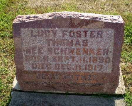 FOSTER THOMAS, LUCY - Greene County, Arkansas | LUCY FOSTER THOMAS - Arkansas Gravestone Photos