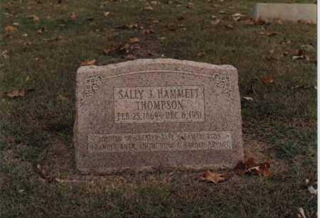 BURTON THOMPSON, SALLY J. - Greene County, Arkansas | SALLY J. BURTON THOMPSON - Arkansas Gravestone Photos