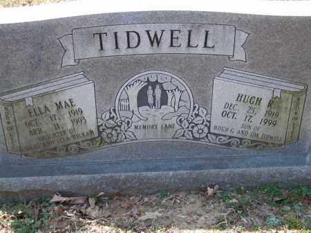 TIDWELL, HUGH R. - Greene County, Arkansas | HUGH R. TIDWELL - Arkansas Gravestone Photos
