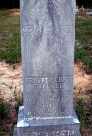 TOELKEN, ERNEST HENRY - Greene County, Arkansas   ERNEST HENRY TOELKEN - Arkansas Gravestone Photos
