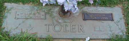 TOLER, JUANITA - Greene County, Arkansas | JUANITA TOLER - Arkansas Gravestone Photos