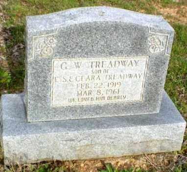 TREADWAY, G W - Greene County, Arkansas   G W TREADWAY - Arkansas Gravestone Photos
