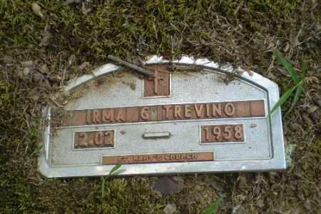 TREVINO, IRMA G - Greene County, Arkansas | IRMA G TREVINO - Arkansas Gravestone Photos